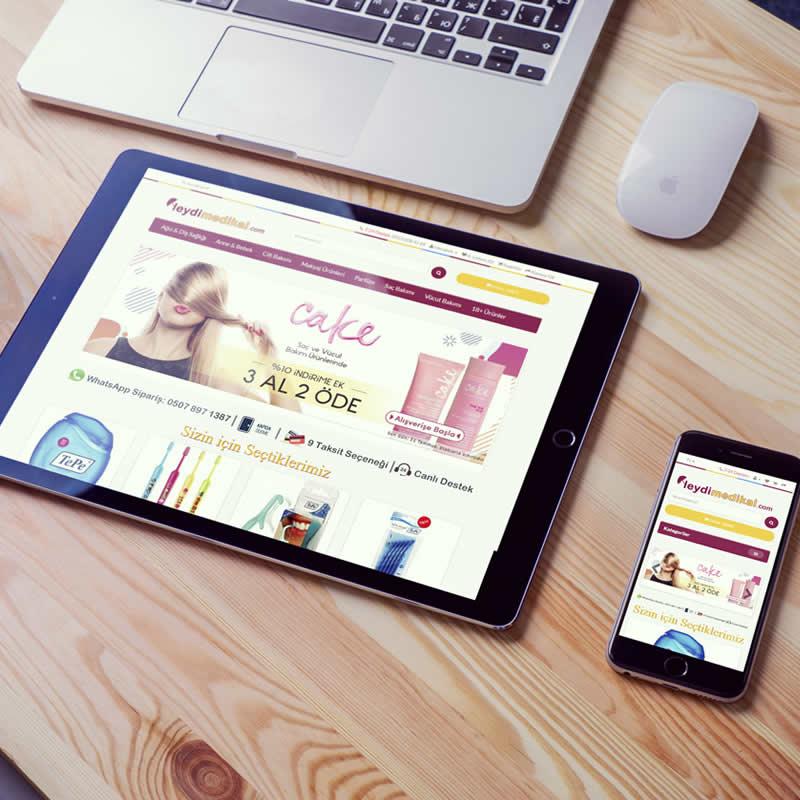 Medical E-Commerce Site