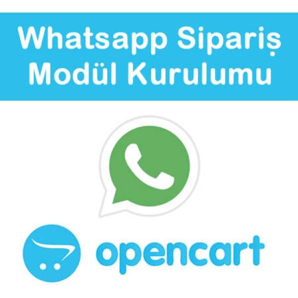 Opencart Whatsapp Order Module