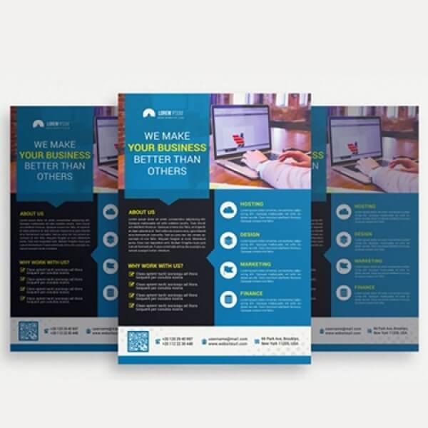 A5 Brochure (Duplex Color + Free Design)