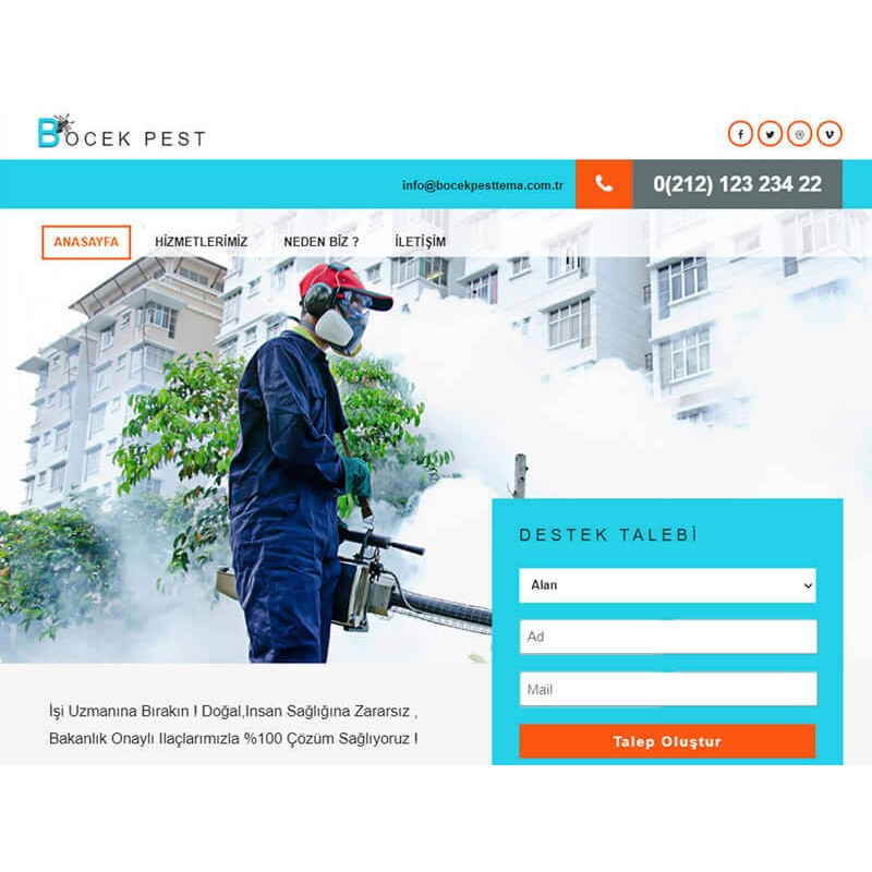 Pest Website