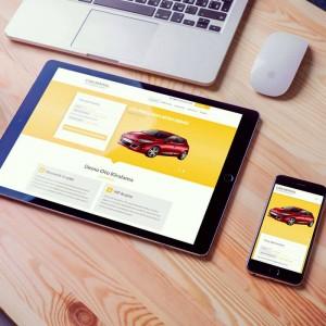 Car Rental Website Stil-2